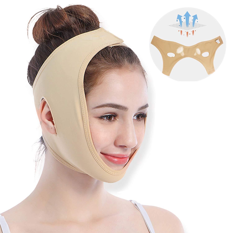 v line face slimming mask jala rasvade kadumine