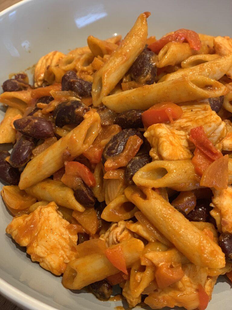 slimming soob fajita pasta