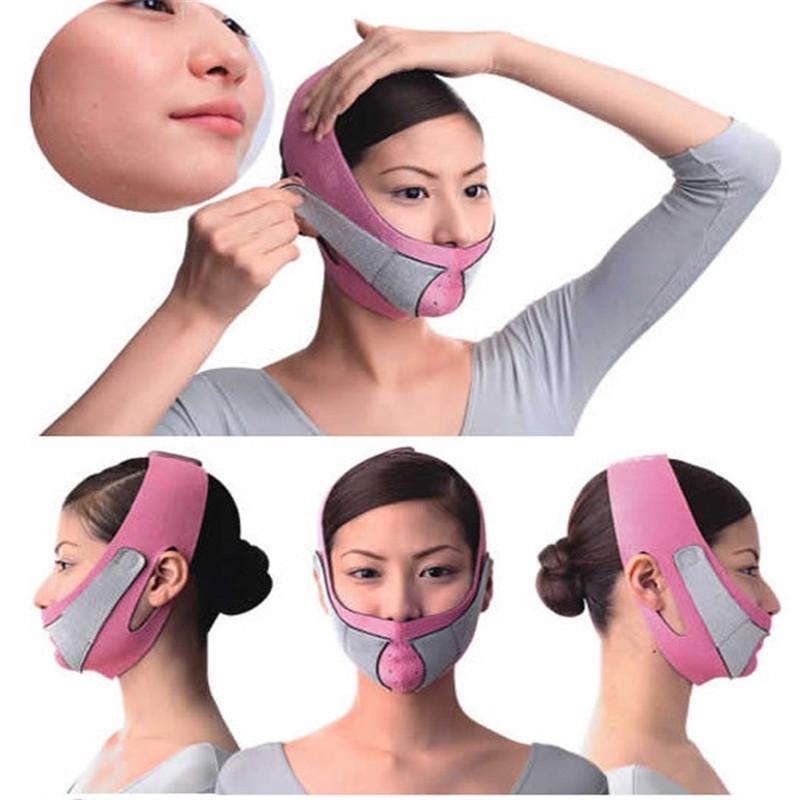 v line face slimming mask slimming korvarongad