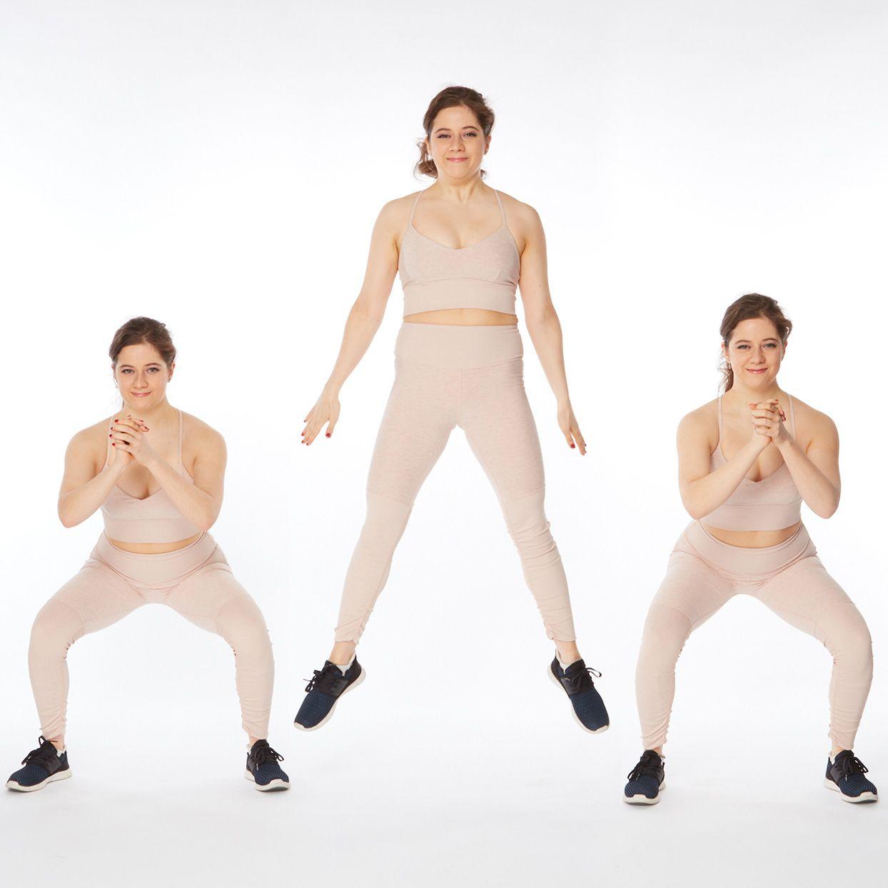 sliming squats fitness blender fat burner hiit